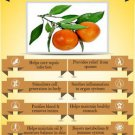 Ambrosial Tangerine Oil 100% Pure Organic Natural Uncut Undiluted 10ml to 1000ml