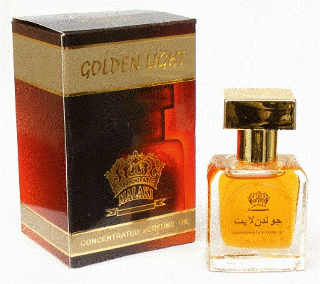 Ambrosial Ahsan 20ml Malaki Golden Light Attar 100% Pure Perfume Oil