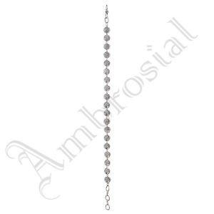 Oxidised White Metal Handcrafted Indian Ethnic Women Gypsy Bracelet Jewelry 14