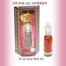 Al Nuaim Oudh Al Afreen 25ml Attar Perfume Oil Alcohol Free Natural by Ambrosial