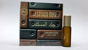 Madni 7ml Leather Musk Exotic Extrait de Parfum   Attar   Ittar   Perfume