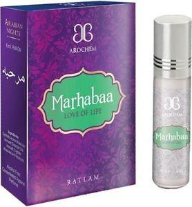 Arochem Marhabaa UniSex Oriental Attar Concentrated Arabian Perfume Oil 6ml