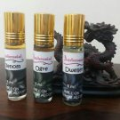 Ambrosial Gift Set 3 Nos of Assorted Attar Rollon 100% Natural Pure Perfume Oil