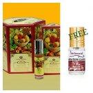 Al Rehab Fruit for Women Oriental Attar Concentratd Arabian Perfume Oil 6ml 6PCS