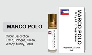 Ambrosial 8ml Marco Polo Attar 100% Natural Pure Perfume Oil (Buy 1 Get 1 Free)