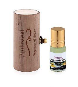 Ambrosial 3ml Nag Champa Gift Set Natural Indian Attar Perfume Concentrate Oil