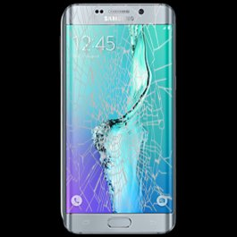 (BL) Samsung Galaxy S6 Edge Plus Glass Replacement -BLUE