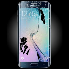 (BL) Samsung Galaxy S6 LCD & Digitizer Replacement - BLACK/BLUE