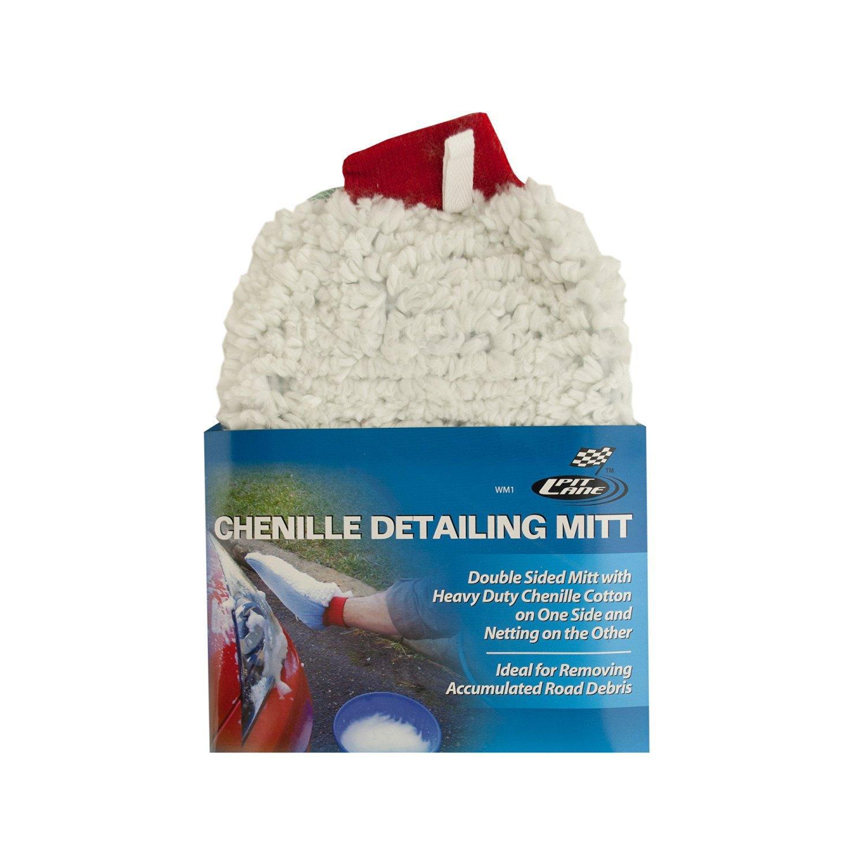Chenille Auto Detailing Mitt
