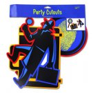Secret Agent Party Cut Outs
