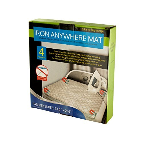Iron Anywhere Ironing Mat with Magnets Portable Ironing Surface