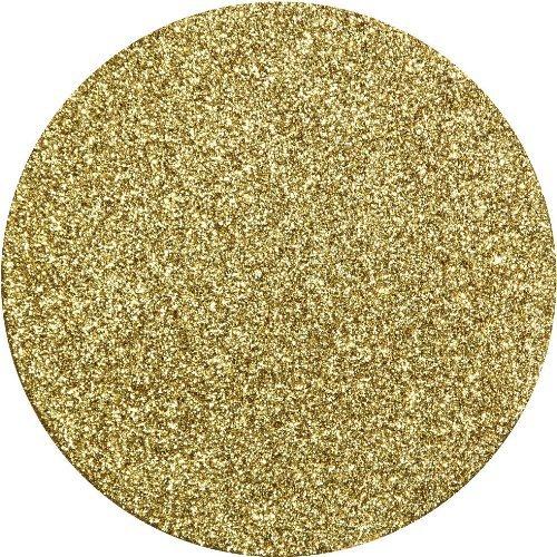 Gold Glitz Glitter Coasters - Pack of 8