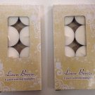 16-Pack Linen Breeze Scented Tea Lights Candles