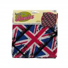 "British Flag Bandana 20""x20"" Head Scarf or Head Wrap"