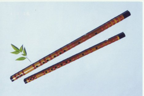 JY-102-Medium Sound-fixed White Bamboo Flute