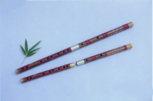JY-108-Special III Professional Bamboo Flute W/T Double Copper Joints