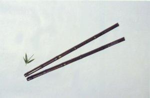 JY-202-Deluxe Black Bamboo Vertical Flute