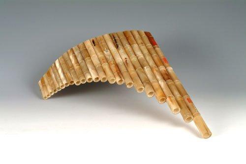 JY-415-Ox horn Pan Flute
