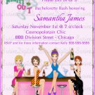 Girl Friends Party Invitation/ Girls Night Out Bachelorette Party Invite/ Bridal Shower Invitation