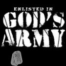 Enlisted In God's Army Tee Shirt