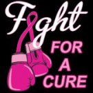 Fight For A Cure Breast Cancer Awareness Tee Shirt