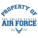 Property Of The United States Air Force Tee Shirt