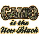 Camo Is The New Black Tee Shirt