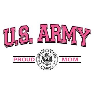 U.S. Army Proud Mom Tee Shirt