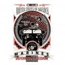 United States Of American Marines Defending Freedom Tee Shirt