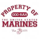 Property Of United States Marines Est. 1775 Tee Shirt