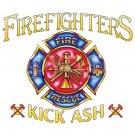 Firefighter Kick Ash Tee Shirt