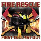 Fire Rescue First In Last Out Tee Shirt