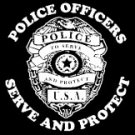 Police Officers Serve and Protect Tee Shirt