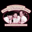 The Three Stooges Attorneys Dewey Cheatum and Howe Tee Shirt