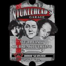 The Three Stooges Knuckleheads Garage We'll Fix it Or Break It Trying Tee Shirt