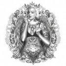 Marilyn Monroe Tattood Tee Shirt