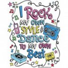I Rock My Own Style and Dance To My Own Beat Tee Shirt