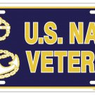 U.S. Navy Veteran License Plate