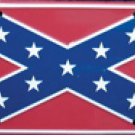 Rebel Confederate Flag License Plate