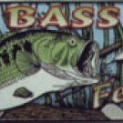 Bass Fever License Plate