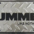 Hummer Like Nothing Else License Plate