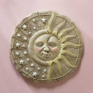 Night And Day Celestial Wall Plaque