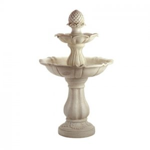 Pineappe 3 Tiered Water Fountain