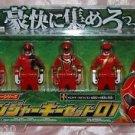 Bandai Power Rangers Gokaiger Key Figure Set 01 Set of 5 Plastic
