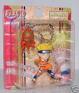 """Bandai Naruto Ninja Uzumaki Key Chain 2"""""""