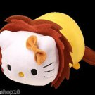 2016 Sanrio Hello Kitty Animal Carnival Hello Kitty Cosplay Lion Plush Strap