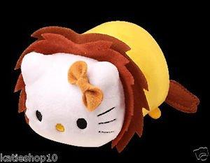 2016 Sanrio Hello Kitty Animal Carnival Hello Kitty Cosplay Lion Plush Strap