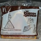 McDonald's DreamWorks Happy Meal Toy Mr Peabody & Sherman Magnetic Pyramid Maze