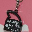 2009 Sanrio 35th Hello Kitty Charm Collection Black Shoulder Bag Pendant