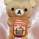 "San X Rilakkuma Relax Bear Kuma Kuma Hot Cake Plush Doll 11"" H Japan UFO Catcher"